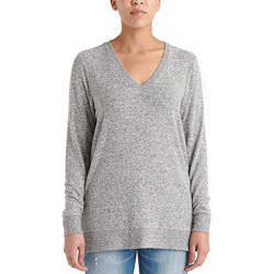 Lucky Brand Ladies' V-Neck Tunic Long Sleeves Pullover