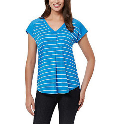 ADRIENNE VITTADINI Ladies' Short Sleeve Top