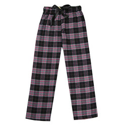 BRAVE/J. ANN Adult's 100% Cotton Super Soft Flannel Plaid Pajama/Lounge Pants/Shorts