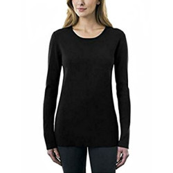 J.Ann Kirkland Signature Ladies' Crewneck Sweater (Size L, Color Black)