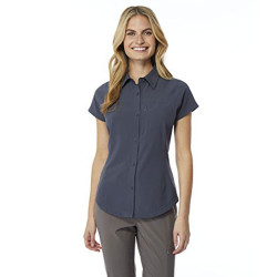 32 DEGREES Cool Women's Outdoor Performance Top Button Down Shirt