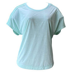 Womens 3-Stripes Climalite Short Sleeve Crew Neck T-Shirt