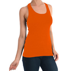 Women's 100% Cotton Racerback Tank Top