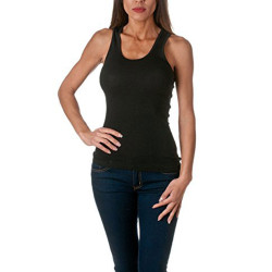 Tank Top - Women's Cotton Ribbed Tank Top