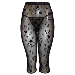 J.Ann 1Pc/Pk or 2Pc/Pk Youth Stylish Sheer Printed Leggings